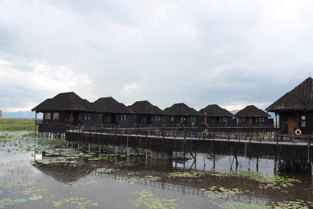 A resort near the Lake.