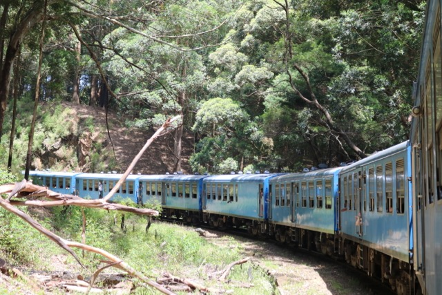 Train to Nuwara Eliya