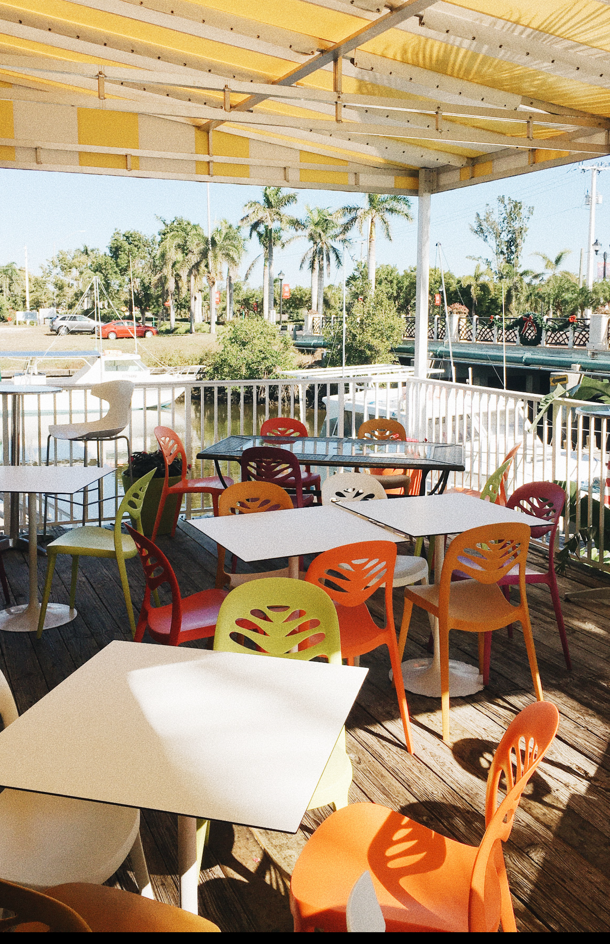this cute breakfast/lunch place is perfect for your morning cup of coffee as you can sit out on the patio and look at the water. I enjoyed a BLT on fresh bread and home made chips!
