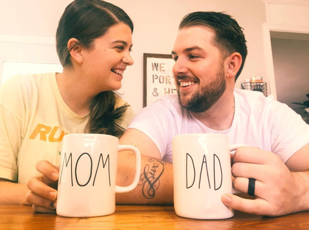 Announcement that we were having a baby!