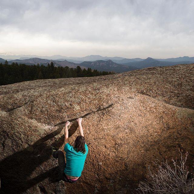 #bouldering #coloradobouldering #granite #climbyourwayout #rockclimbing #pikenationalforest #coloradorocks #rockyroad #goup #climbon #climbonbrother #adventureswithfriends #coloradoadventures #firstascent #firstascentclimbing