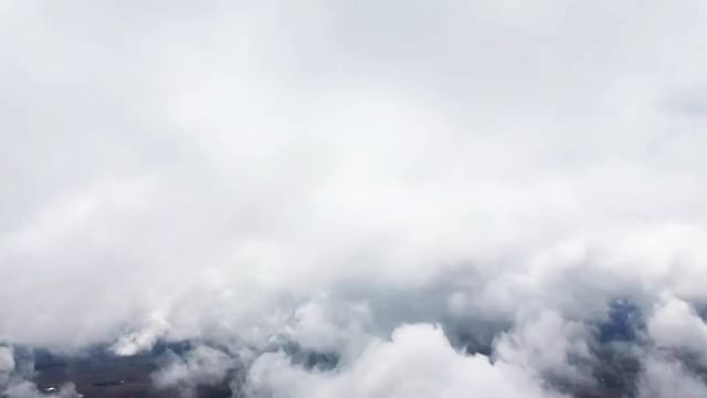 Once again I find myself above the clouds. The whole world feels open to you when you're up this high.