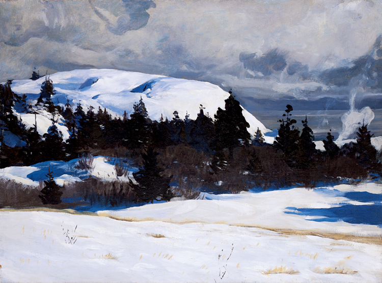 Writing Prompt for Scientific Observation Unit #1: Rockwell Kent, Maine Coast, c. 1907, 97.3.25