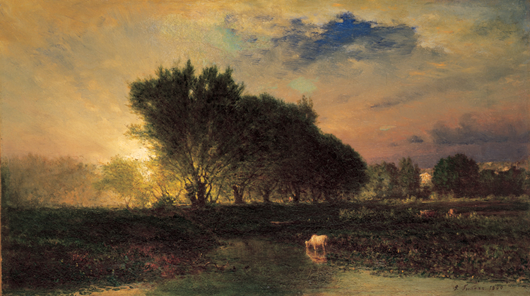 Writing Prompt for Scientific Observation Unit #2: George Inness, Sunrise, 1860, 57.1062