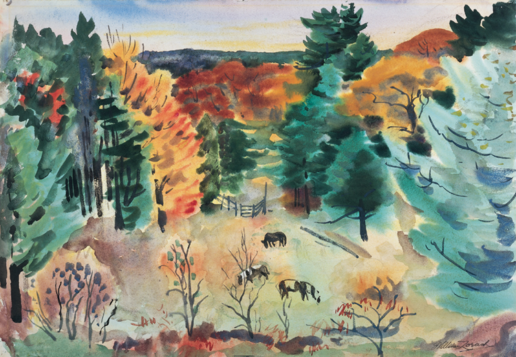 Writing Prompt for Scientific Observation Unit #3: William Zorach, Fall Homestead Pasture, 1928, 80.36.2