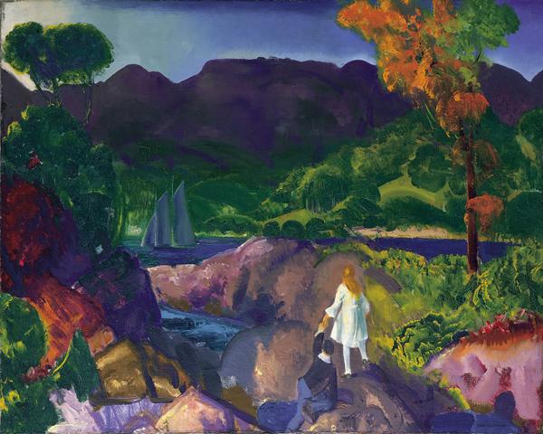 Romance of Autumn, George Bellows, 1916