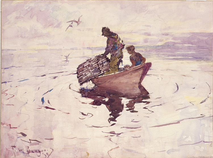 4.Frank Benson, The Lobsterman, 1937, 43.62
