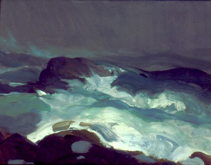 2.George Bellows, Sea in Fog, 1913, 45.568