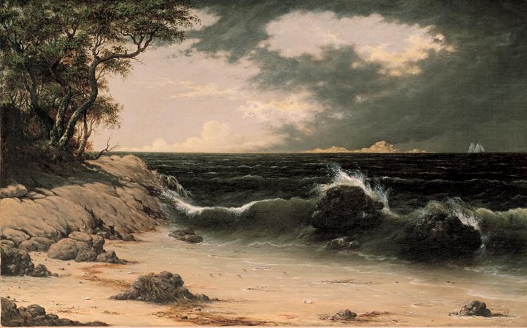 8.Martin Heade, Storm Clouds on the Coast, 1854, 65.1447