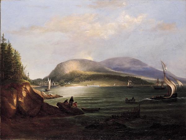 6.Alvan Fisher, Camden Hills and Harbor, 1852, 66.1478