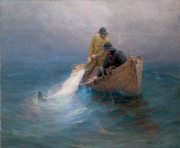 5.Walter Dean, On the Deep Sea, 1901, 71.807