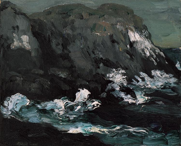 9.Robert Henri, Monhegan Island, 1903,91.9