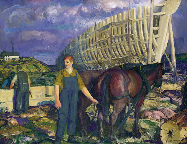 3.George Bellows, The Teamsters, 1916, 97.3.1