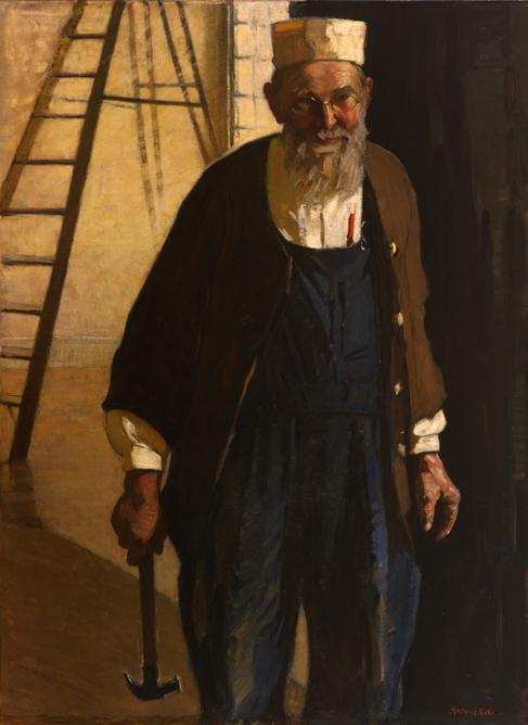8.Gertrude Fiske, The Carpenter, 1922, 66.1529
