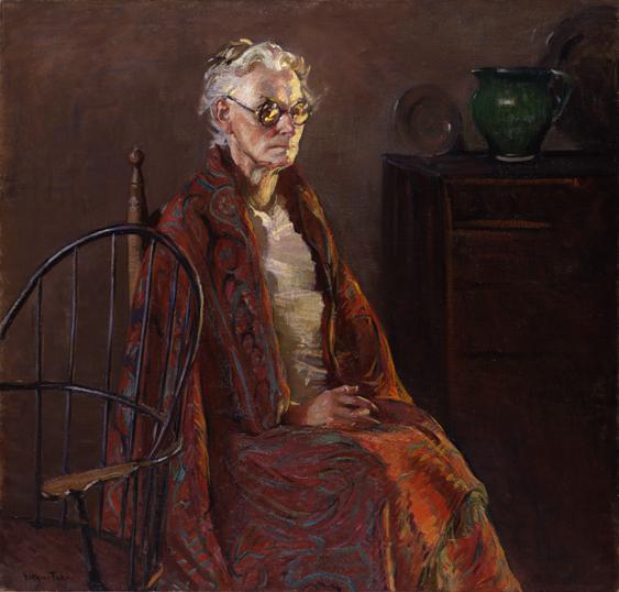 9.Gertrude Fiske, Grandmother, 1926, 66.1530