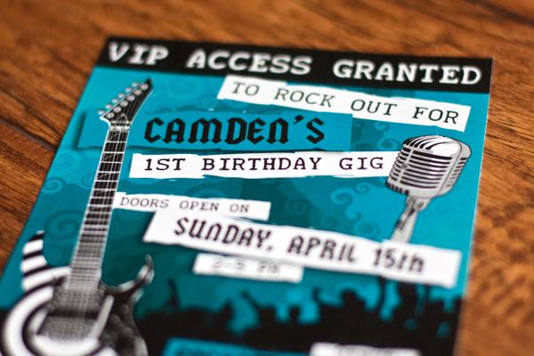 Camden's 1st Birthday
