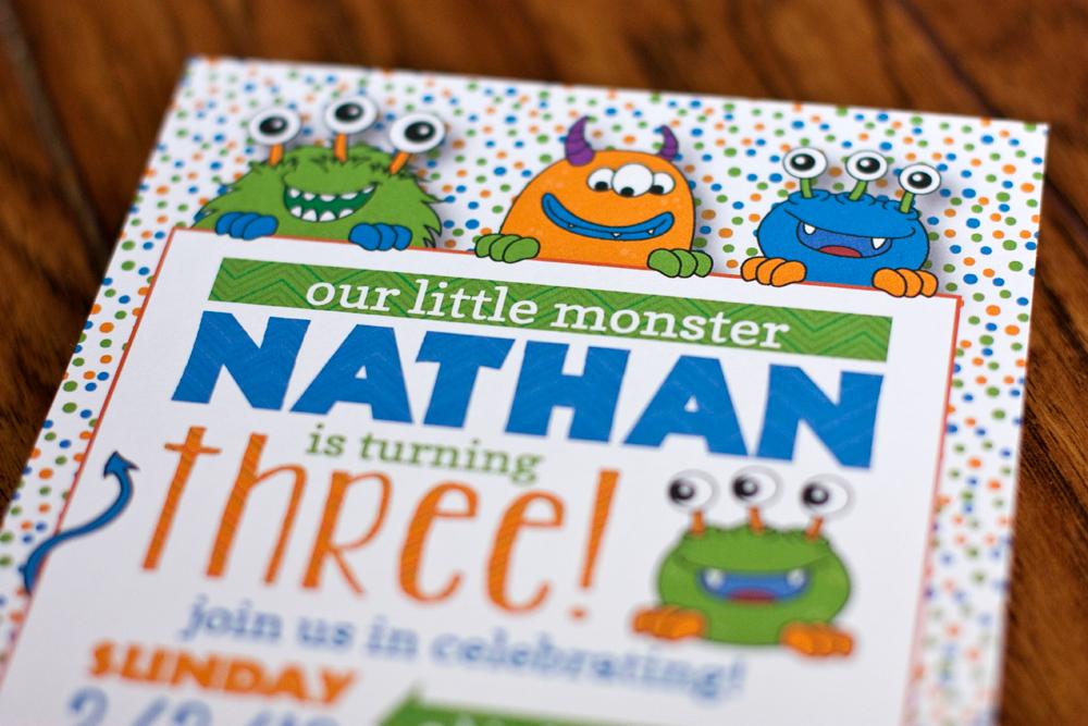 Nathan's 3rd Birthday