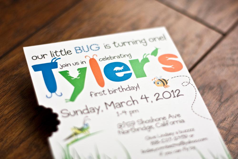 Tyler's 1st Birthday