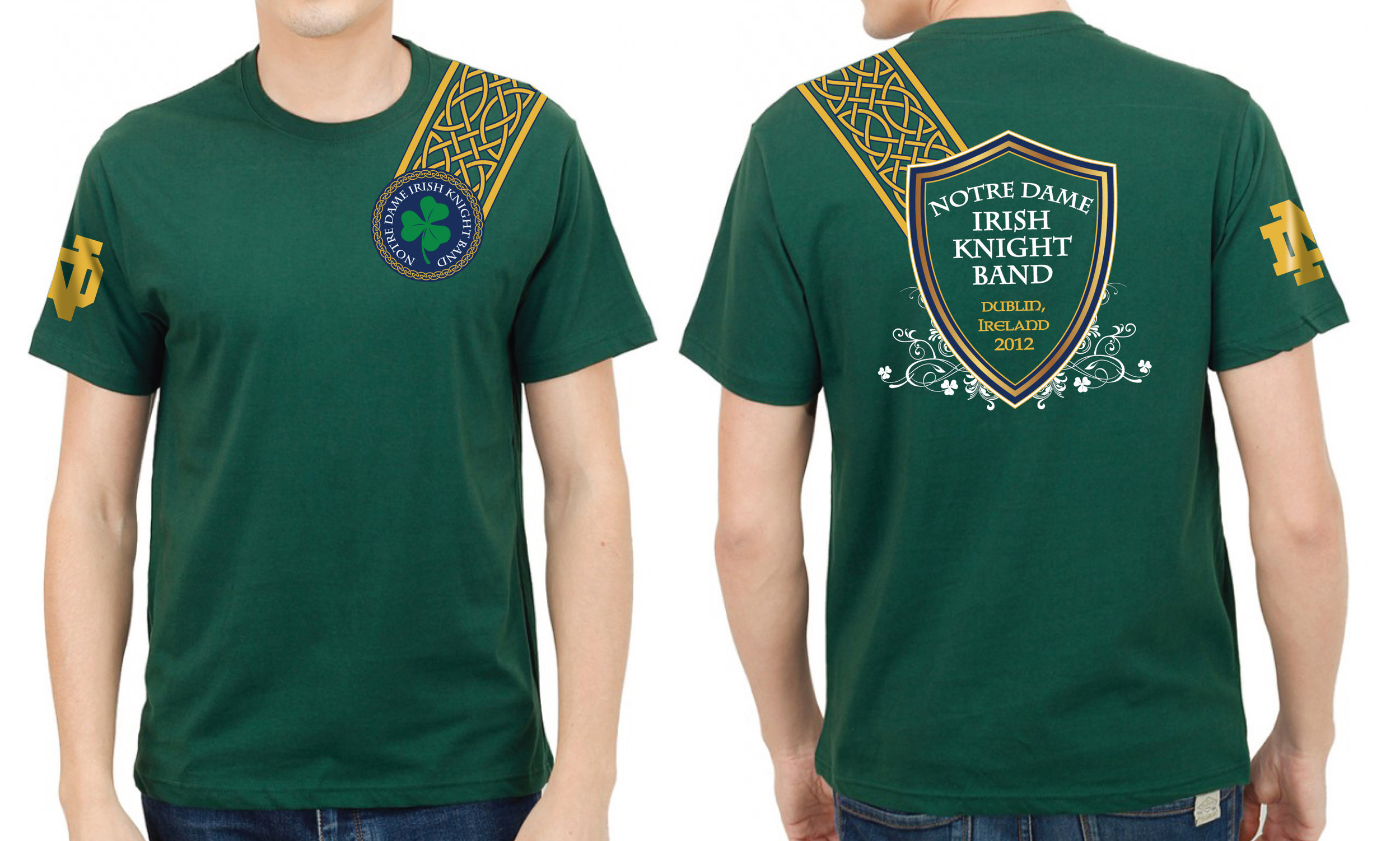 Notre Dame Irish Knight Band Event Tee