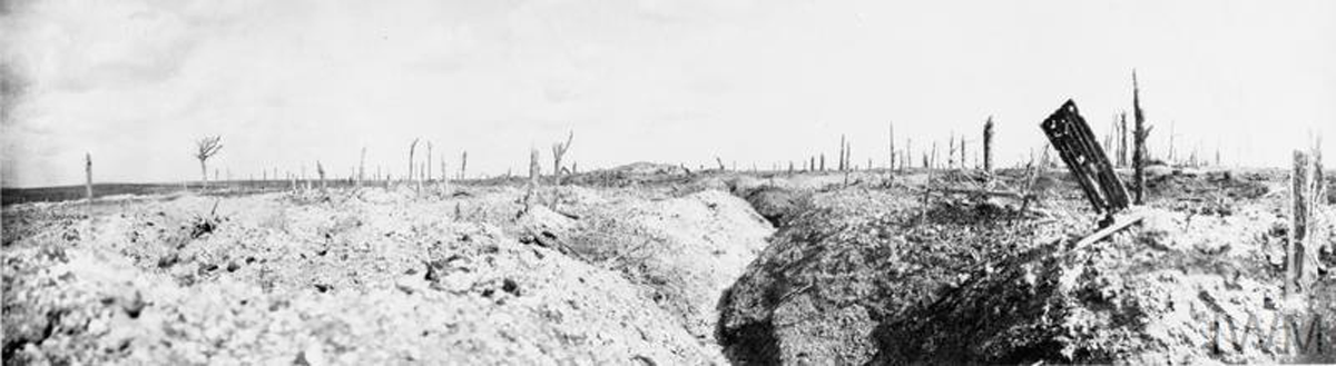 The Somme in 1916.