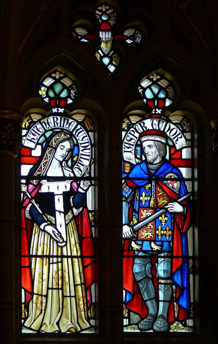 Image courtesy  Wikimedia Commons (Catherine Woodville, Duchess of Buckingham, Cardiff Castle)