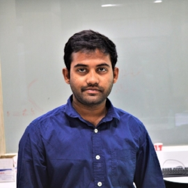 Koteswararao Chilakala - Koteswararao is presently embedded applications engineer at the LVPEI Center for Innovation, developing interface systems and applications. He is an electronics graduate form VIT Chennai and his interests are in image processing and 3-D Computational systems.
