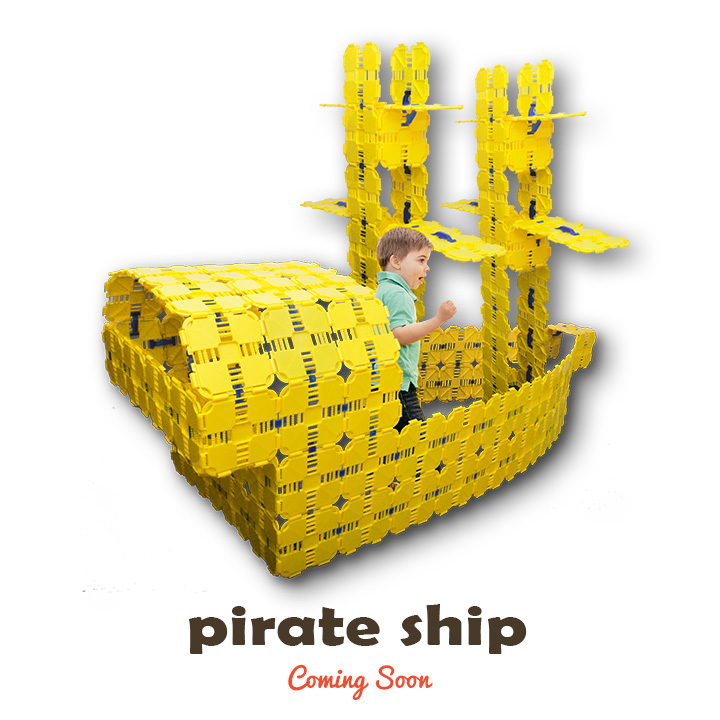 pirate ship kids play fort
