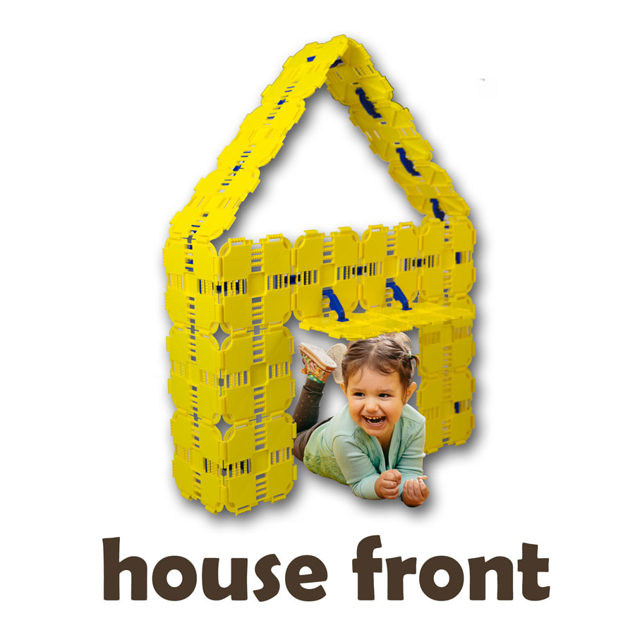 House Front Build Directions