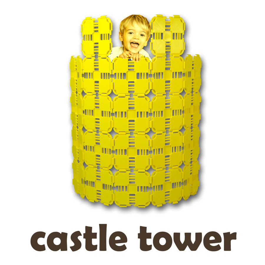 Castle Tower Build Directions