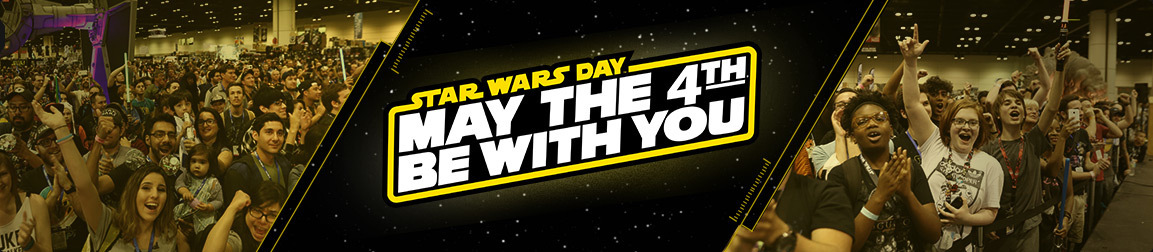 """The """"holiday"""" has become a really big deal! Image from www.starwars.com/may-the-4th"""