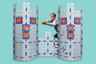 If your kids like Nerf, they'll love   Blaster Boards  .