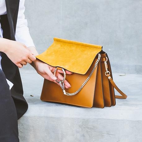 Dalalid Wearing Chloe Faye Bag form Selfridges Closeup.jpg
