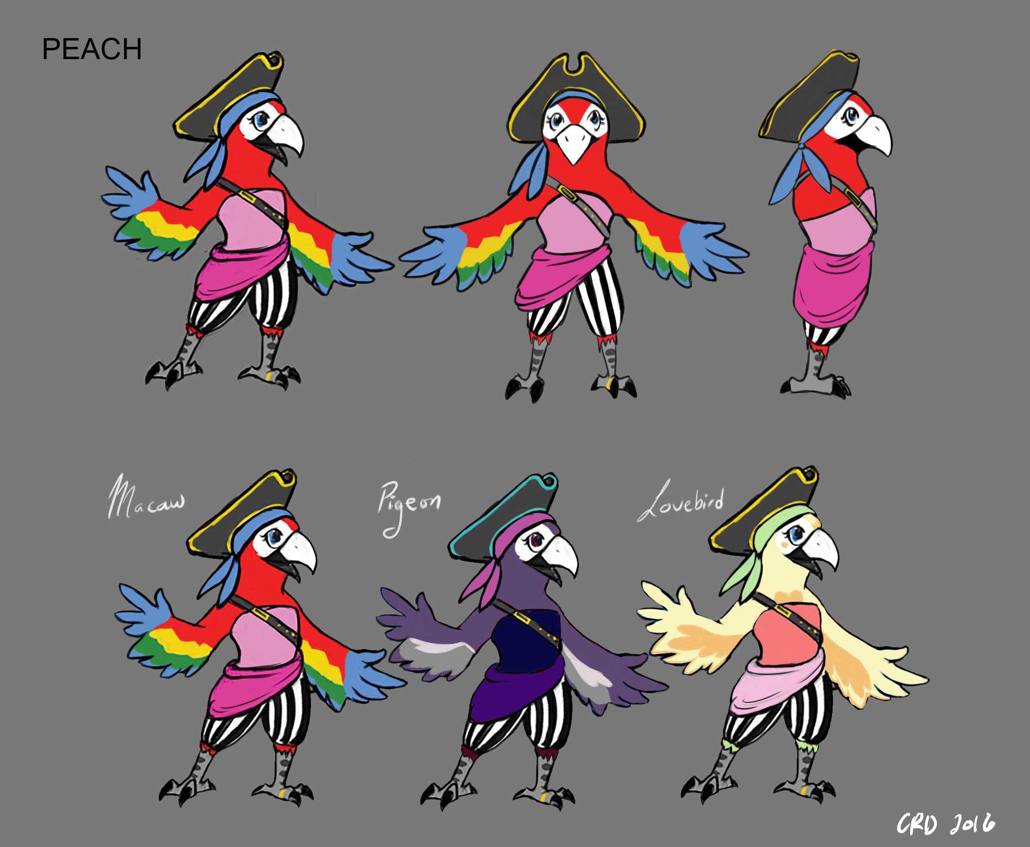 Peach Concept