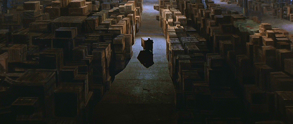 ....the final scene of Raiders of the Lost Ark.