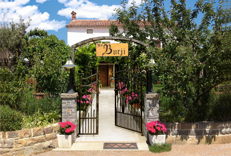 Na Burji - pristna Istrska kujinja iz okoliških sestavin