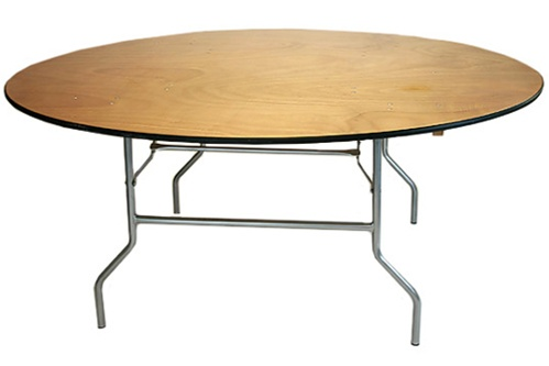 Round Banquet Tables.
