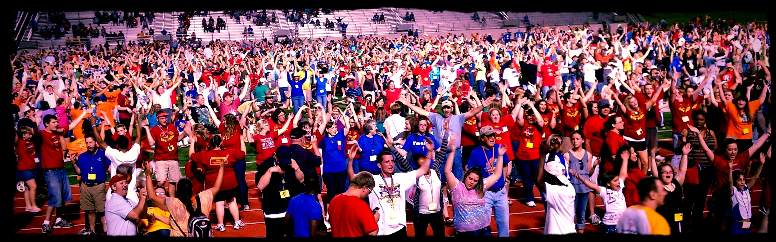 5,000 dancers at the Special Olympics Celebration!