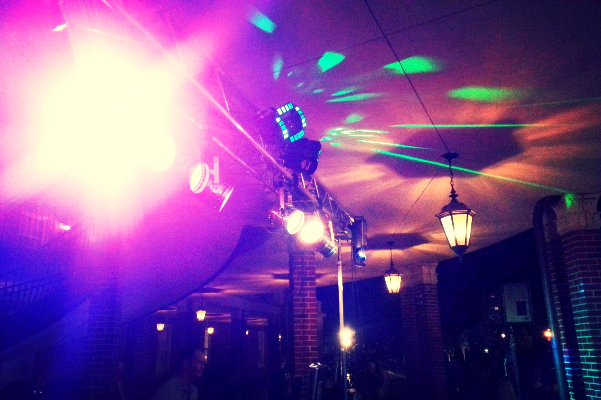 Dance Lighting.