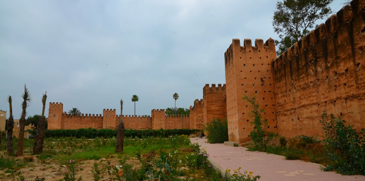 The southern Moroccan fortified town of Taroudant.