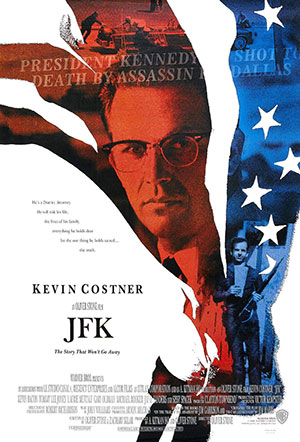 JFK was a controversial film about a conspiracy.