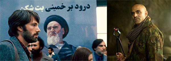 "Ben Affleck in ""Argo""; an Arab terrorist in ""Iron Man"""