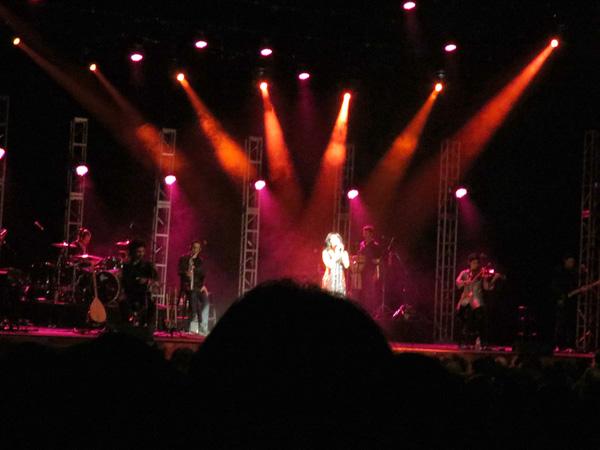 Rita Jahanforuz at Royce Hall, Nov. 1, 2012 (Photo: Jordan Elgrably)