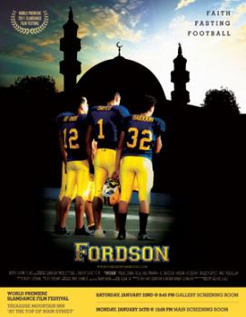 Poster for Rashid Ghazi's football documentary,