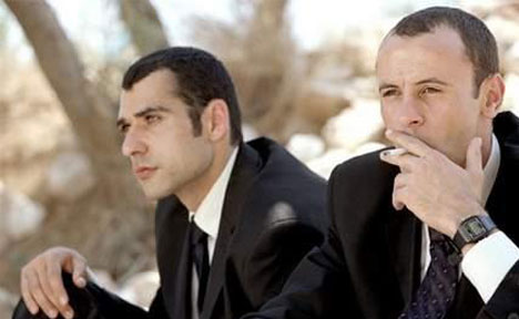 "Kais Nashef and Ali Suliman costar in ""Paradise Now"""