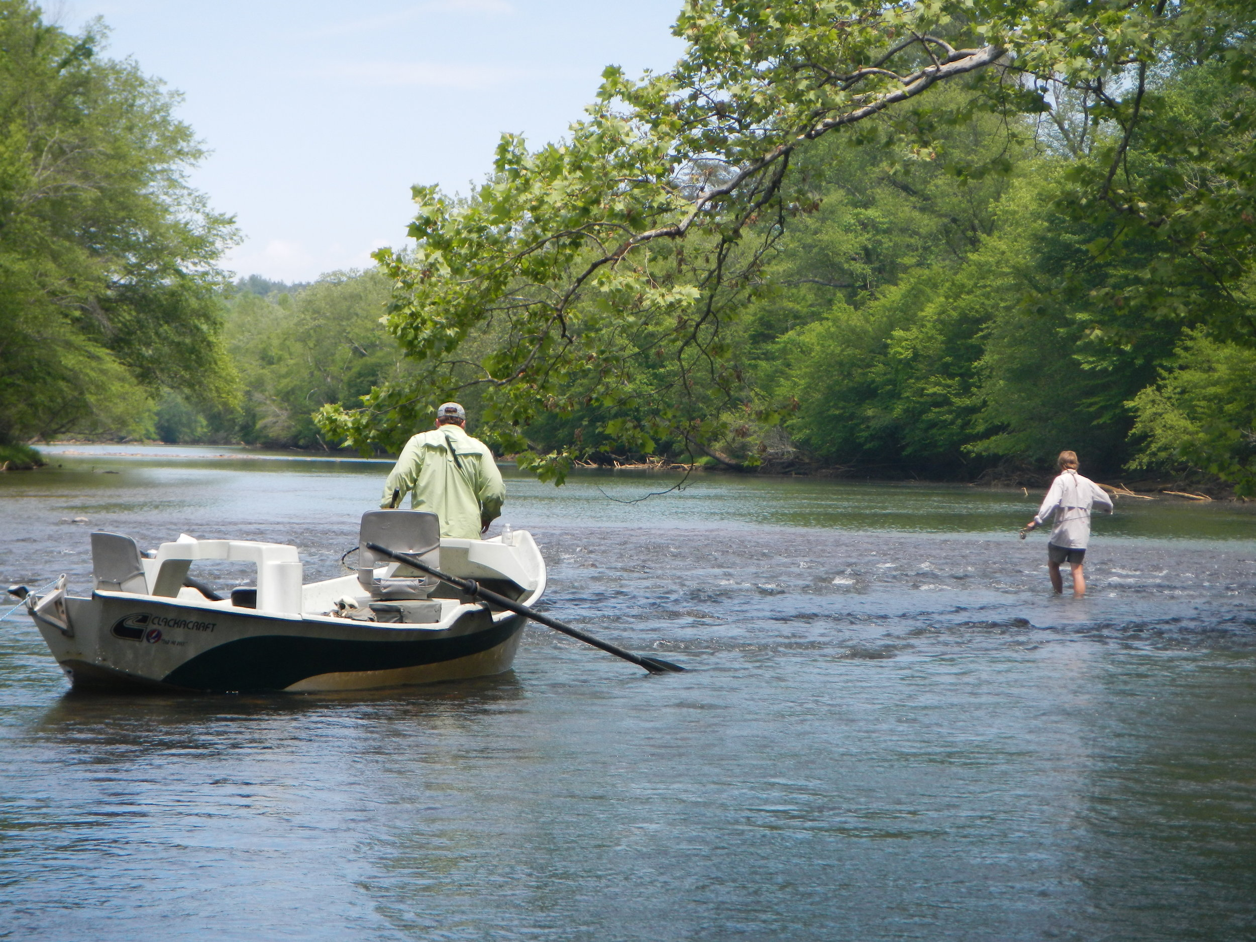 The waters at Catawba River Club are designated Trophy Trout Waters.