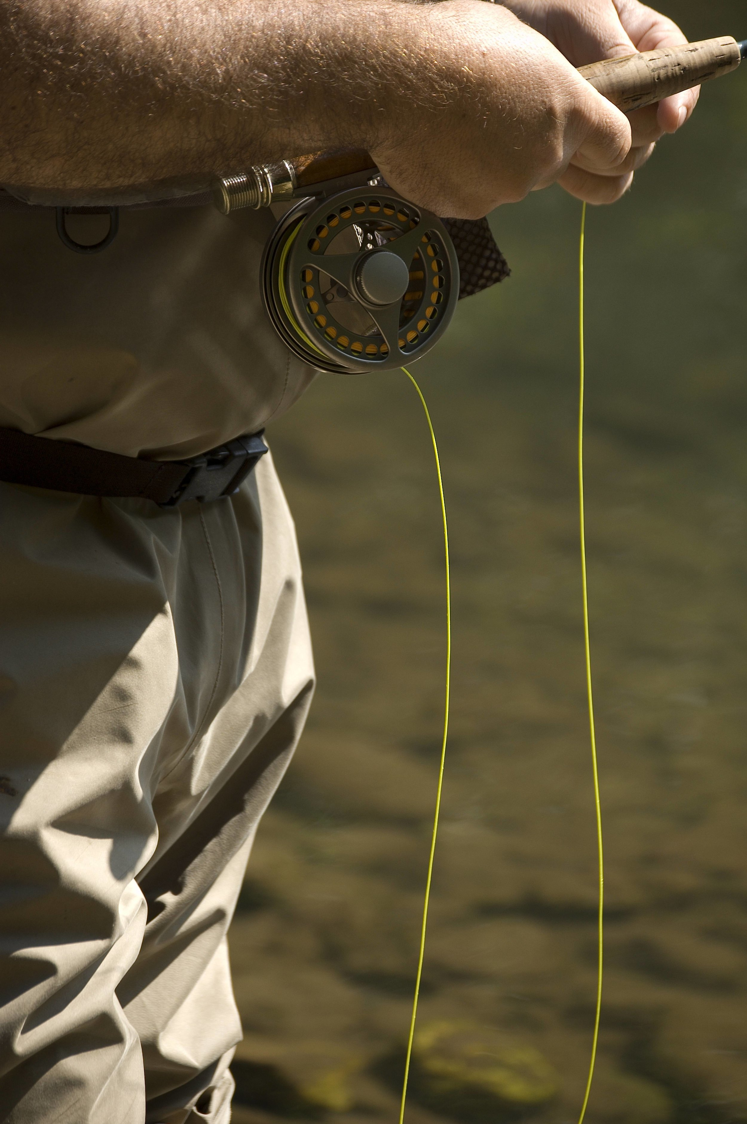 Fly fishing and trout fishing are popular at Catawba River Club