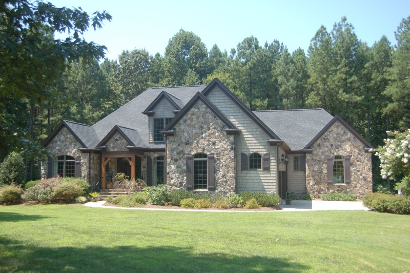 Custom home by Ogden Construction