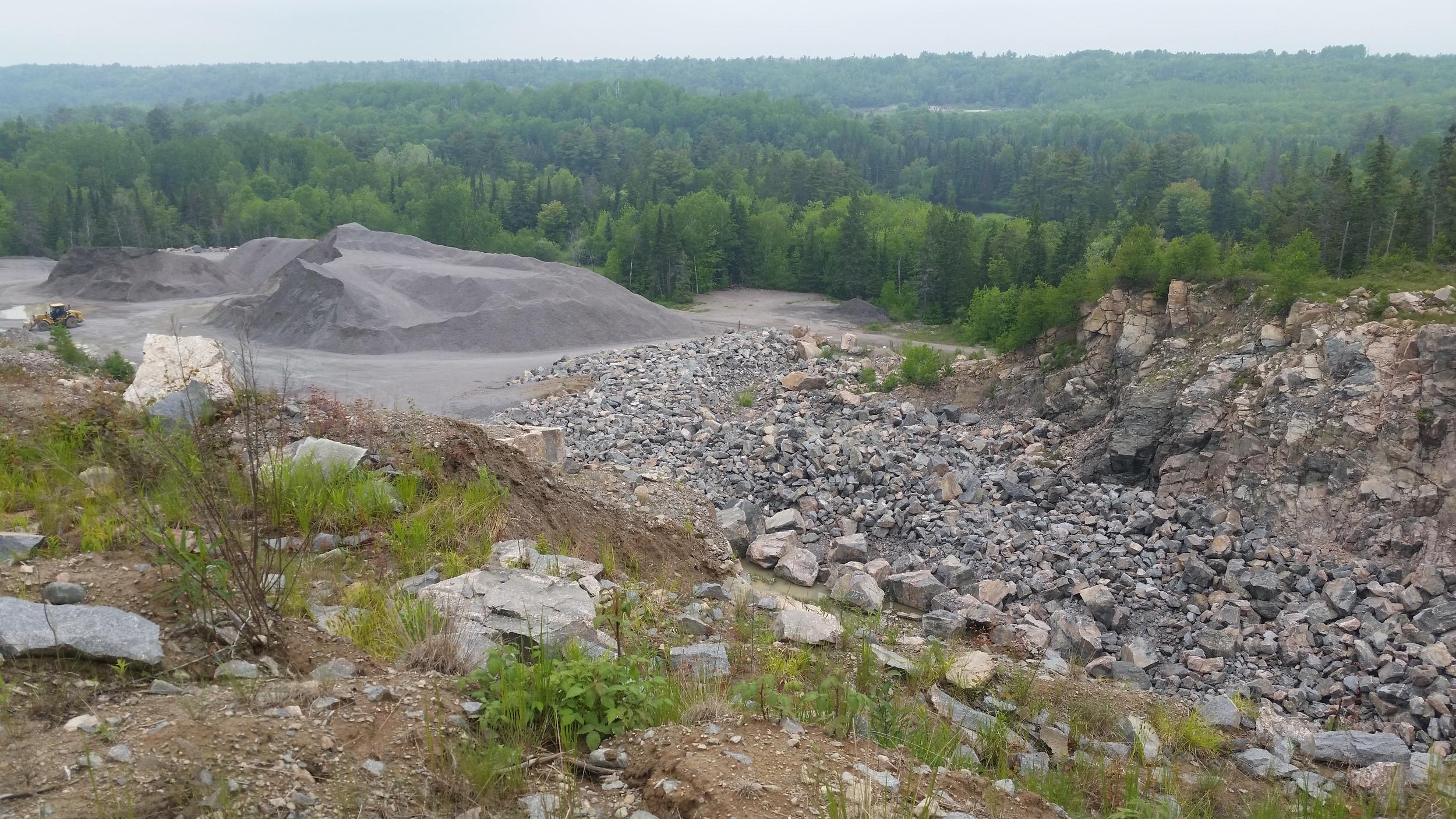 SRFN Quarry suppling aggregate
