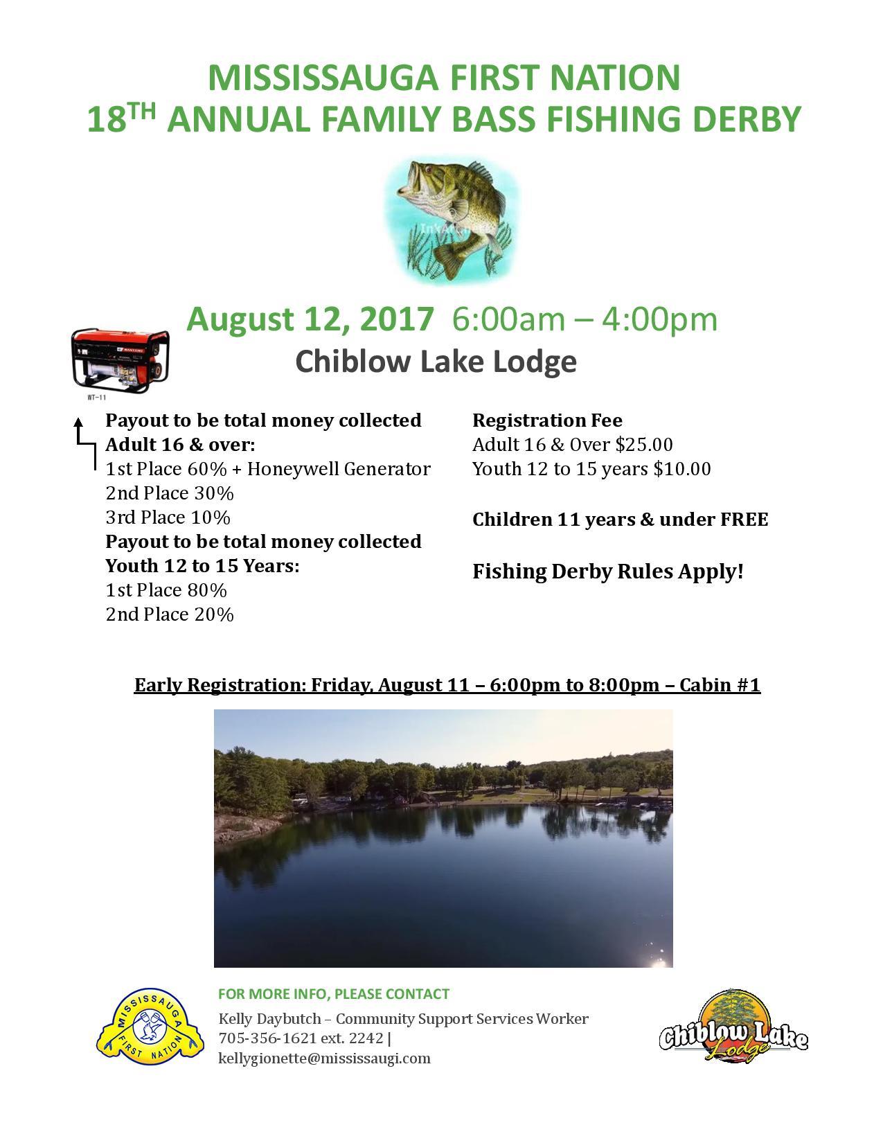 Fishing Derby Chiblow Lake