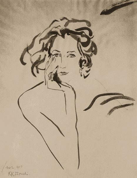 Mrs. David K.E. Bruce by RenéBouché